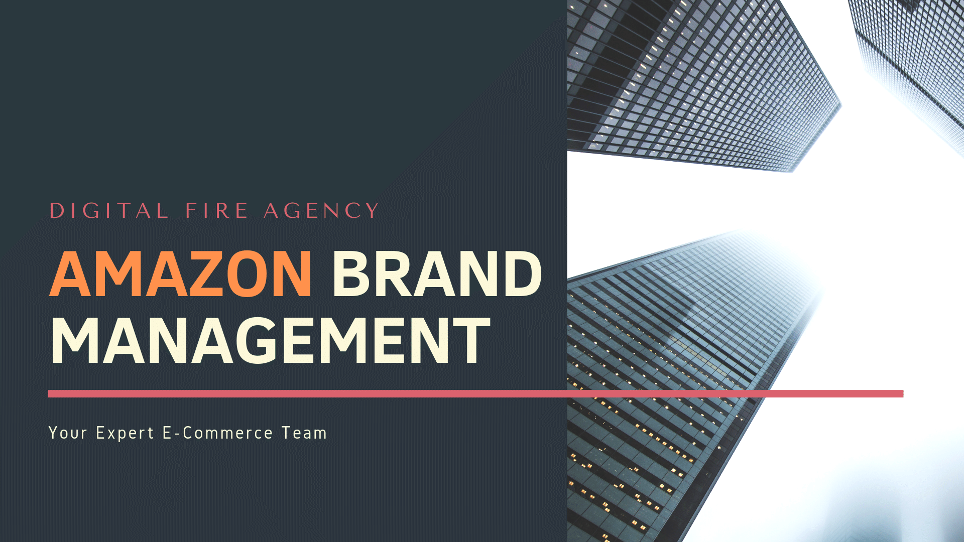 Digital Fire Agency Amazon Brand Management Services
